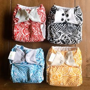 cloth diapers bumgenius 4-bundle Chelsea Perry